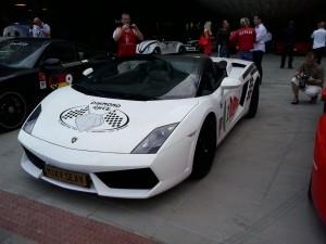 Sexy Lamborghini na Diamond Race 2014