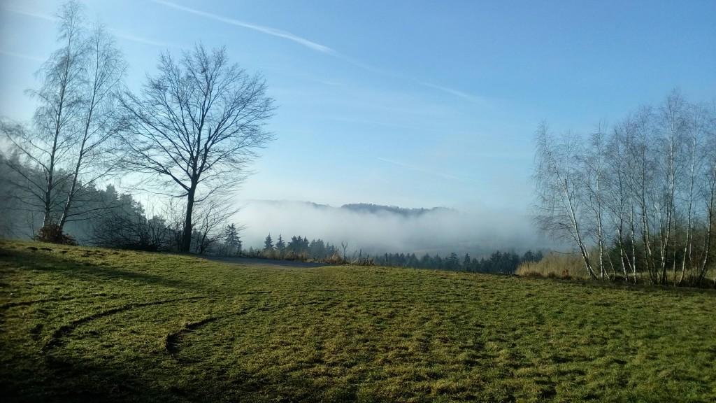 Mlha na Vysočině