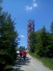 Rozhledna na Pekelném kopci u Třebíče